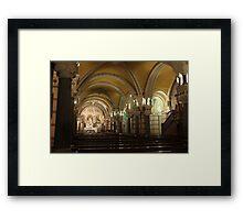 crypt Framed Print