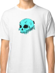Dripping With Sarcasm - Turquoise Skull Classic T-Shirt