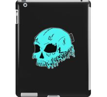 Dripping With Sarcasm - Turquoise Skull iPad Case/Skin