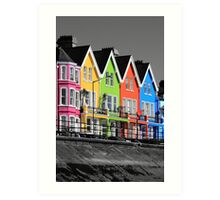 Psychedelic Terrace Art Print