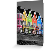 Psychedelic Terrace Greeting Card