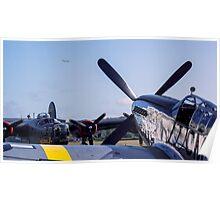 Flying Back Poster
