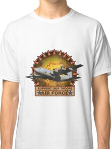 Air Force Cargo- Support Our Troops Classic T-Shirt