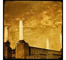 battersea powerstation Photographic Print