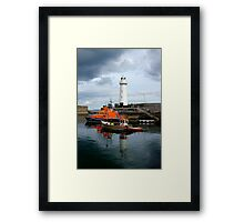 Under A Cloud Framed Print