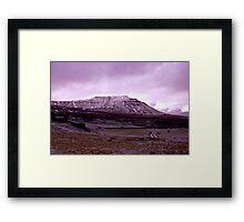 Ingleborough Fell Framed Print