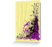 Partial conscience Greeting Card