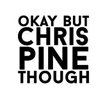 Chris Pine Photographic Print
