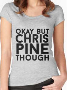 Chris Pine Women's Fitted Scoop T-Shirt