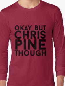 Chris Pine Long Sleeve T-Shirt