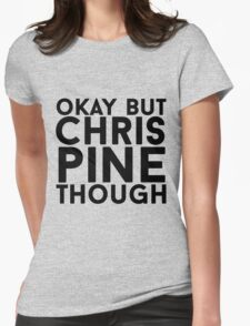 Chris Pine Womens Fitted T-Shirt
