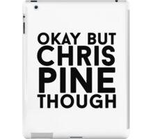 Chris Pine iPad Case/Skin