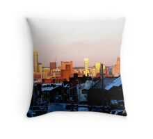 LIVERPOOL LANDSCAPE Throw Pillow