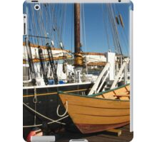 Last Of The Dory Fishermen ~ Gloucester, Massachusetts iPad Case/Skin