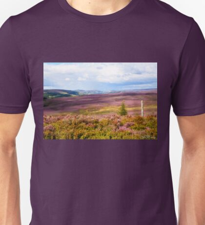 Across to  Bilsdale. Unisex T-Shirt