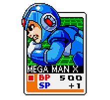 Mega Man X Photographic Print