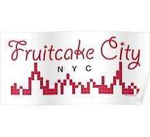 Fruitcake City Poster
