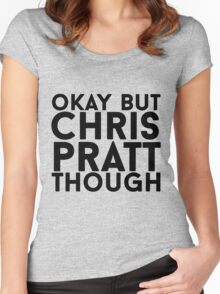 Chris Pratt Women's Fitted Scoop T-Shirt