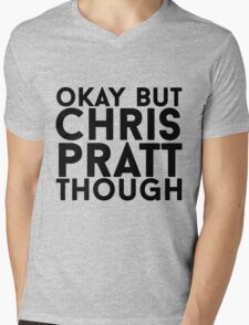 Chris Pratt Mens V-Neck T-Shirt