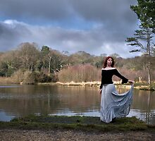 Lady by the lake by GordonScott