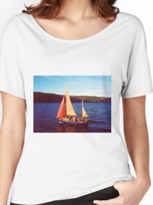Red Sails In Broad Daylight ~ Loch Ness Women's Relaxed Fit T-Shirt