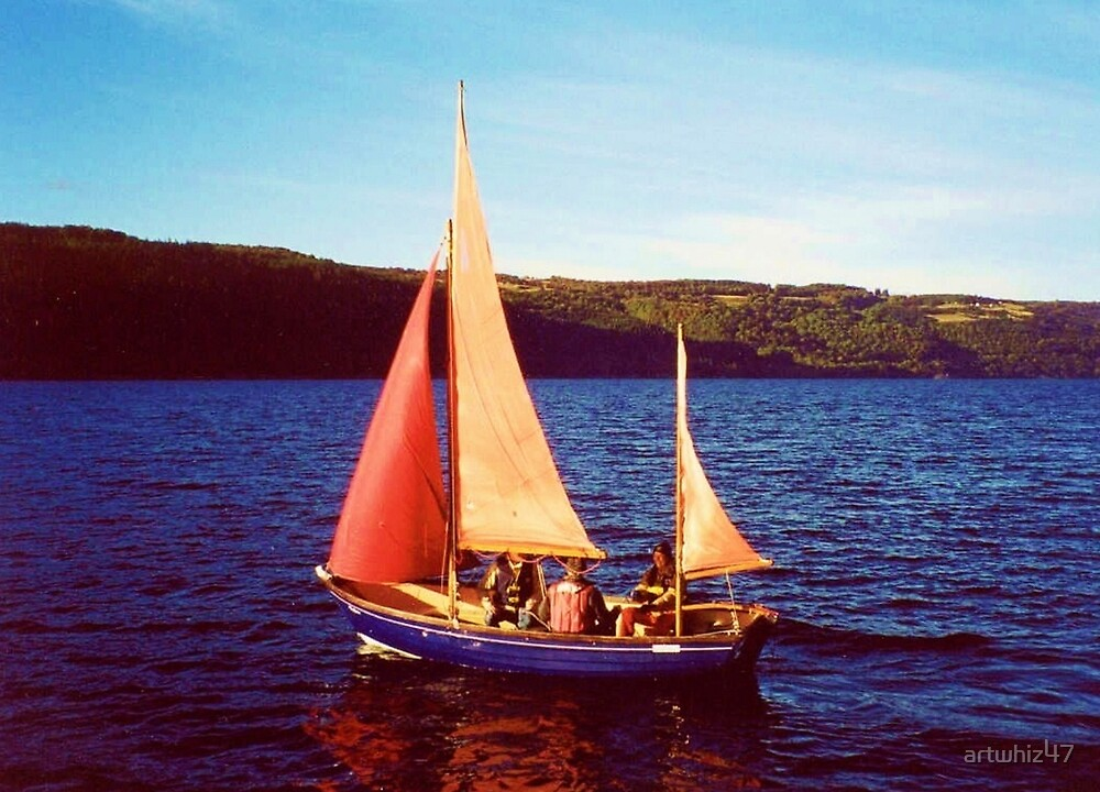 Red Sails In Broad Daylight ~ Loch Ness by artwhiz47