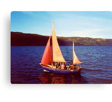 Red Sails In Broad Daylight ~ Loch Ness Metal Print
