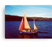 Red Sails In Broad Daylight ~ Loch Ness Canvas Print