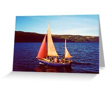Red Sails In Broad Daylight ~ Loch Ness Greeting Card
