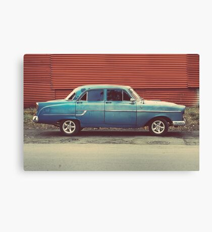 Hey champ  Canvas Print