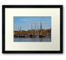 Full House Framed Print
