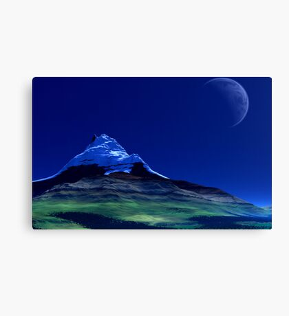 Cal'Dargon - Before the Age of Man series. Canvas Print