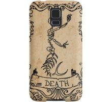Mermaid Tarot: Death Samsung Galaxy Case/Skin