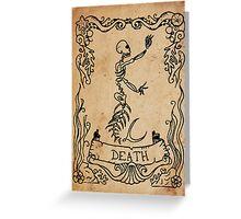 Mermaid Tarot: Death Greeting Card