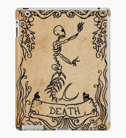 Mermaid Tarot: Death iPad Case/Skin