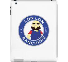 Lon Lon Ranchers iPad Case/Skin