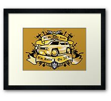 Rollin' On D20's Framed Print