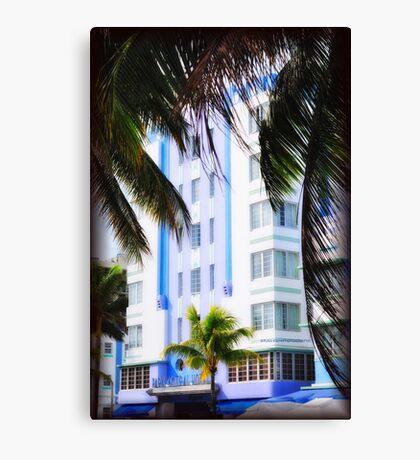 Scenes from Miami III Canvas Print