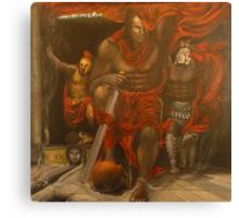Odysseus at Hades  Canvas Print