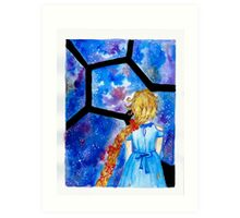 Cress- The Lunar Chronicles Art Print