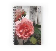 Miami Moon Rose Spiral Notebook