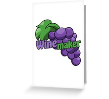 Wine maker Greeting Card