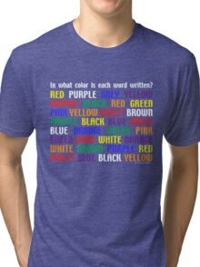 What's My Color Tri-blend T-Shirt