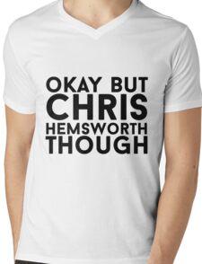 Chris Hemsworth Mens V-Neck T-Shirt