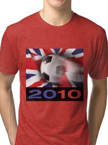 English Soccer Tri-blend T-Shirt