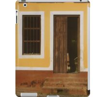 A house is made of walls and beams; a home is built with love iPad Case/Skin