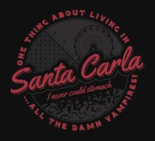 Living in Santa Carla Kids Tee
