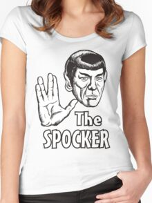 THE SPAWKER Women's Fitted Scoop T-Shirt