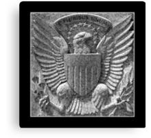 Memorial Details : E Pluribus Unum Canvas Print