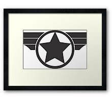 Super Soldier Framed Print
